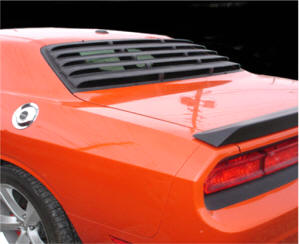 Dodge Challenger Parts And Accessories Store Rear Window Louvers